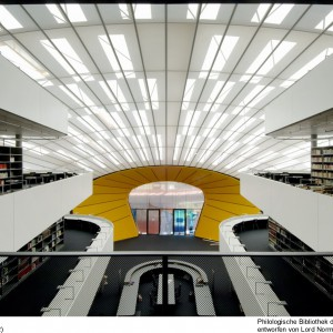 Philologische Universität Berlin (Rostlaube), Licht-, Akustik- und Klimadecke